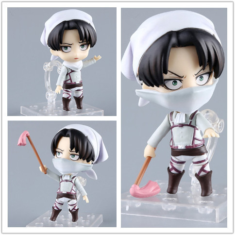 Attack On Titan Levi PVC Anime Action Figure Collectible Model Toy