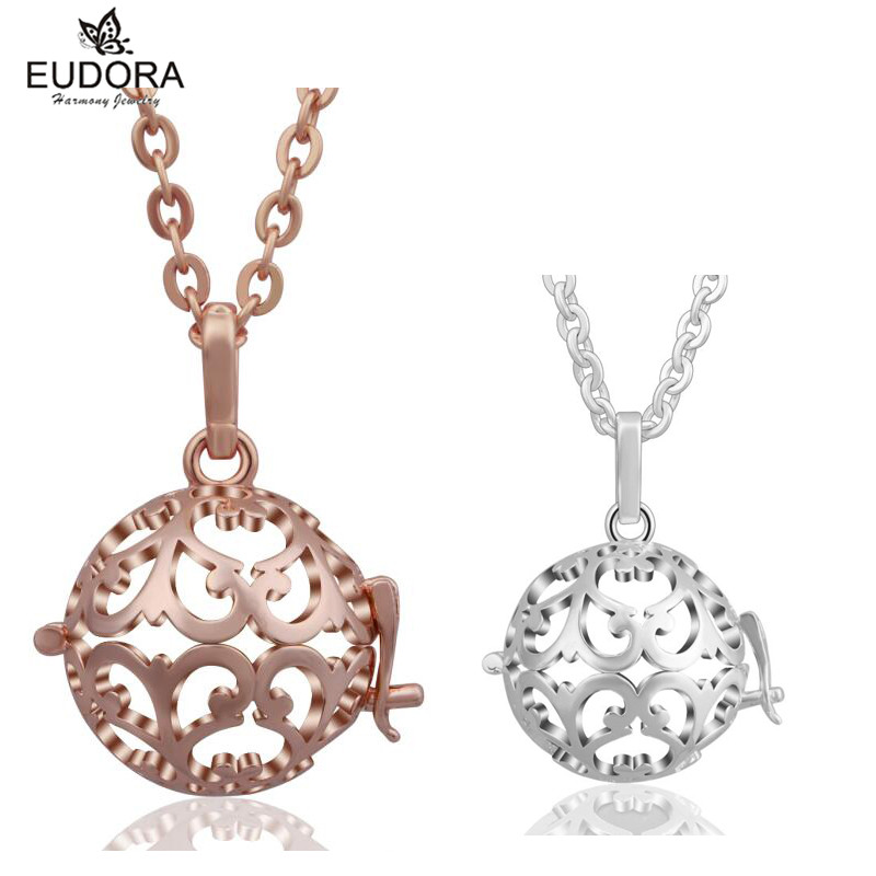 Angel Caller Fashion design Cage Pendant Harmony Bola fit Bell Ringing Chime ball For Pregnant women Baby Best Jewelry Gift