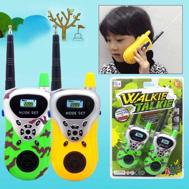 Kids Intercom Toy Kids Wireless Interphone Parents-Kids Interaction ABS Wireless Intercom Toy Educational Creative