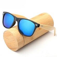 2019 New Fashion Brand Design Wood Men Bamboo Sunglasses Wom