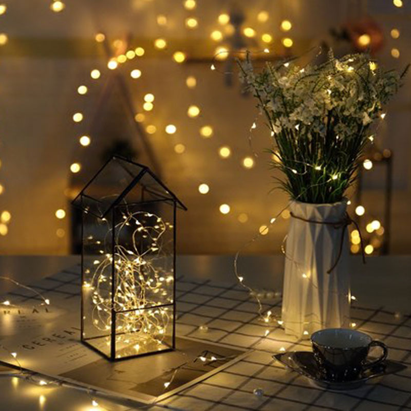 Fairy Lights Wedding Reception Ideas: LED Garland Copper Wire Fairy Lights Holiday Led String