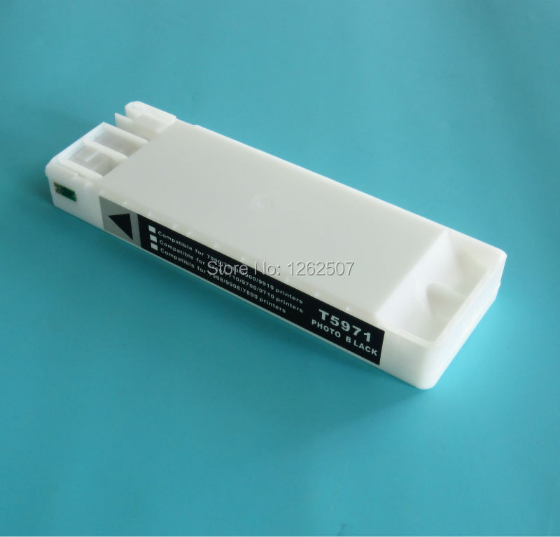 Compatible cartridge For Epson Stylus Pro 7700 9700 Empty cartridge For Epson T6361