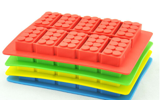 Wholesale 220pcs summer chocolate mould silicone ice cube for Ice block construction