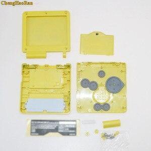 Image 4 - 5 مجموعات لنينتندو GBA SP سوبر ماريو غلاف كامل الإسكان شل غطاء مقبض لعبة وحدة التحكم جزء اللون الأحمر ل Gameboy مقدما SP