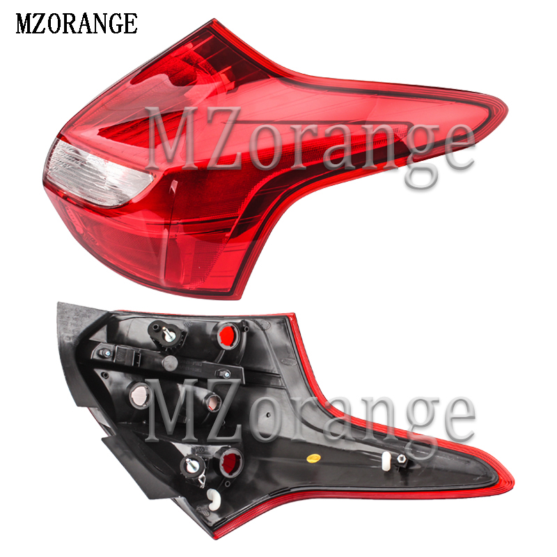 MZORANGE Warning Light Brake Light Rear Bumper Light Tail Stop Lamp Reflector For Ford Focus Hatchback 2012 2013 2014 No BulbMZORANGE Warning Light Brake Light Rear Bumper Light Tail Stop Lamp Reflector For Ford Focus Hatchback 2012 2013 2014 No Bulb