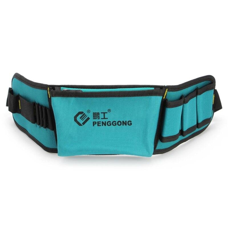 Multifunctional Power Tools Waist Bag Oxford Waterproof Pocket Kit With Belt