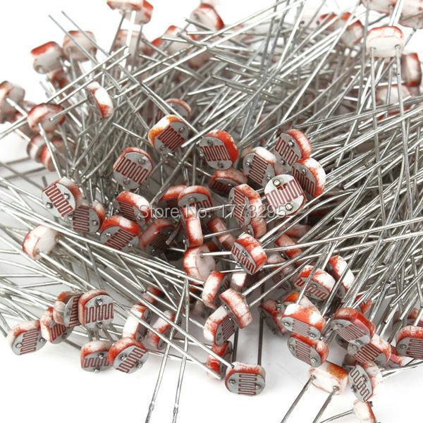 Resistor de fotorresistencia LDR de 5MM, 20 unidades por lote, GL5516 5516, envío gratuito
