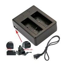 Двойное зарядное устройство USB для SJCAM SJ4000/SJ5000/SJ6000