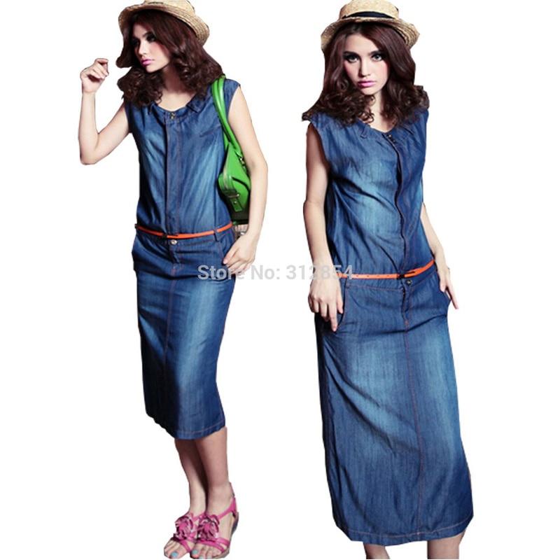 11a07d5ffe6 Robe jeans longue femme – Des vêtements élégants pour tous les jours