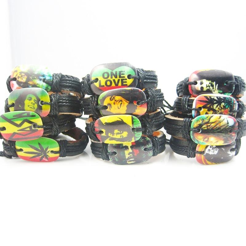 Set of 12 Reggae Themed Bracelets Bangles & Bracelets New In