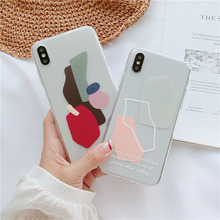 Personalized case for couple iphone 6 6s 7 8 plus xs max xr x graphic cute phone with words clear soft cover