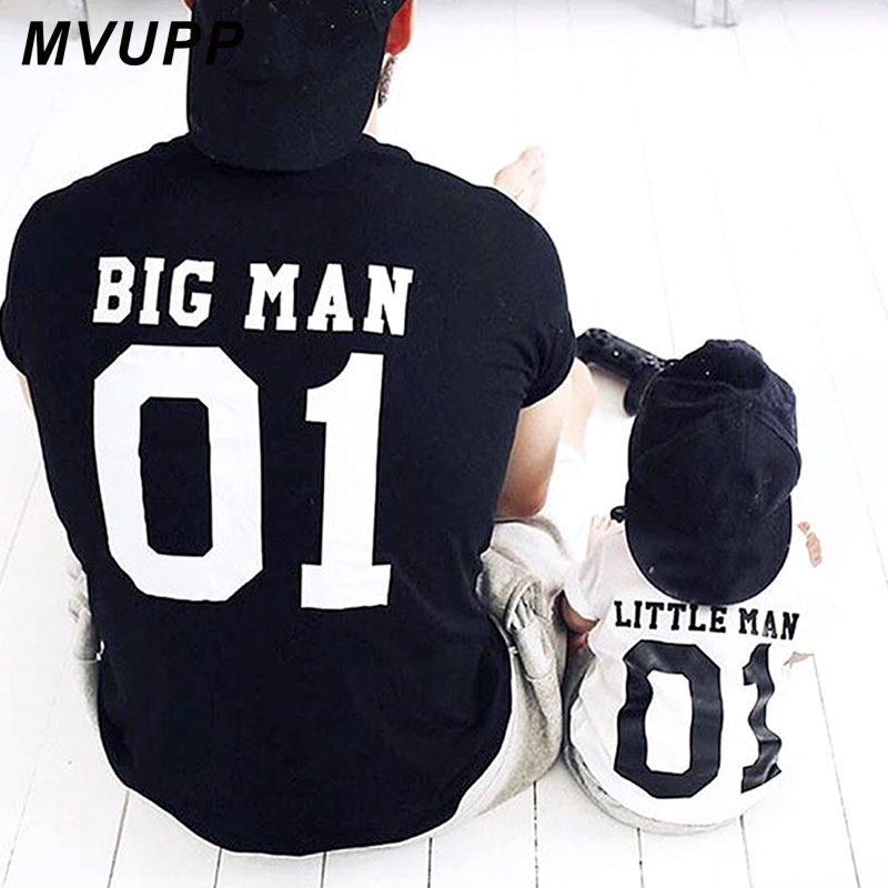 Family Look matching outfits father and son big litter man Dad baby summer fathers day clothing T-shirt for daddy and me clothesFamily Look matching outfits father and son big litter man Dad baby summer fathers day clothing T-shirt for daddy and me clothes