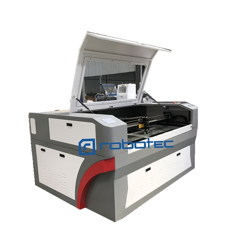 Robotec 4060 9060 1390 1612 1325 60w 90W <font><b>100W</b></font> 150W 200W Co2 <font><b>Laser</b></font> Cutting Machine with co2 reci <font><b>laser</b></font> tube image