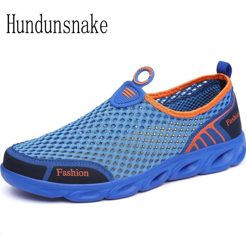Hundunsnake Running Shoes Men Sneakers 2018 Sport Mesh