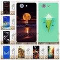 Мультфильм Череп Case Для коке Sony Xperia Z3 Compact Case силиконовые Мягкий Обложка Для коке Xperia Z3 mini Телефон Case
