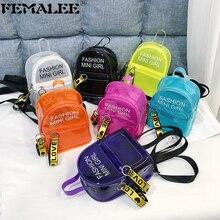 Трендовая Новая женская желеобразная сумка для телефона, сумка через плечо, женская прозрачная мини-сумка через плечо для телефона, прозрачная сумка через плечо для девушек