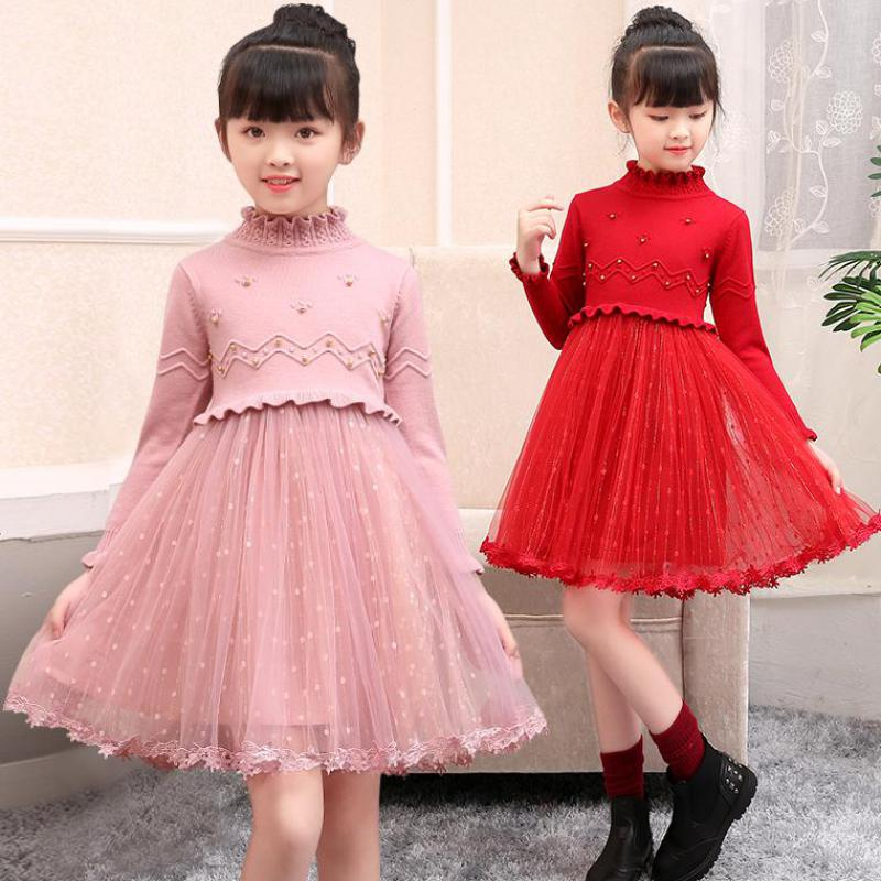 Baby Dress Princess Long Sleeve Sweater Dress For Girls Clothes Autumn Kids Clothes Girls Dress Outfit Christmas Dress CostumeBaby Dress Princess Long Sleeve Sweater Dress For Girls Clothes Autumn Kids Clothes Girls Dress Outfit Christmas Dress Costume