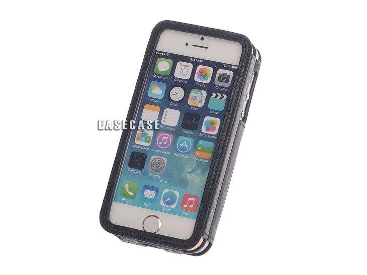 A6 Easecase custom-made Réel Véritable Étui En Cuir pour Deux Téléphones Apple iPhone5 iPhone5S iPhone 5 5S SE