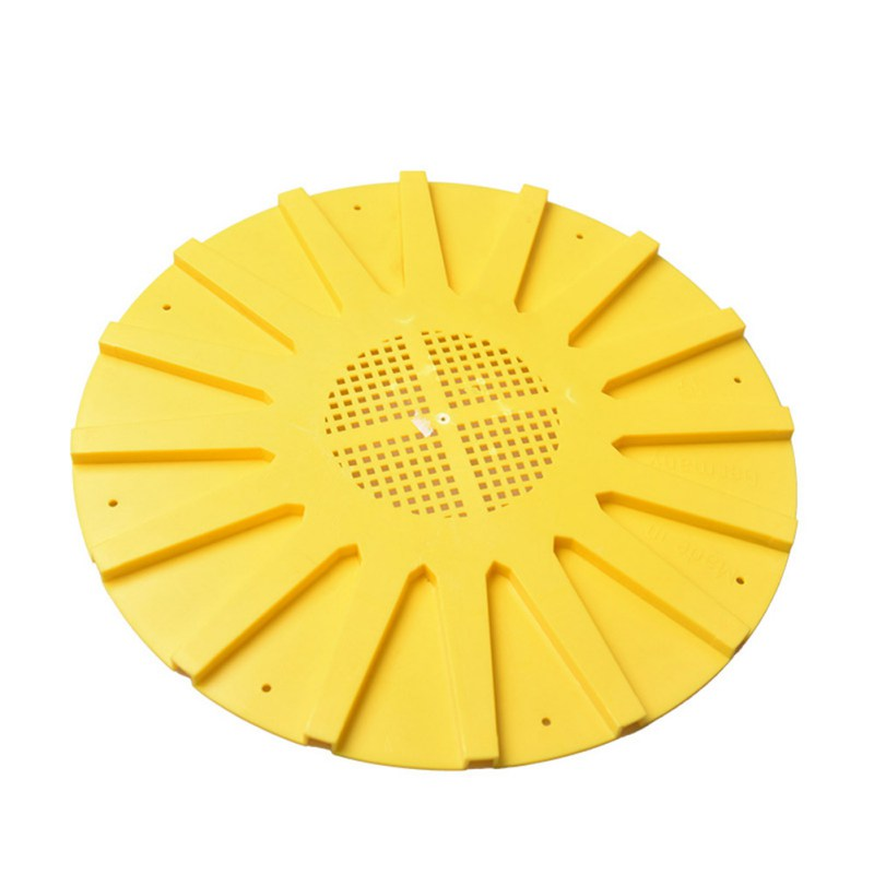 Round Yellow Beehive Round Door 16 Way Bee Escapes Beehive Gate Beekeeping Supplies Centrifuge For Honey
