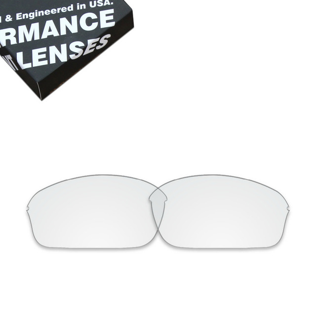 28633ea660 ToughAsNails Replacement Lenses for Oakley Half Wire 2.0 Sunglasses Clear ( Lens Only)