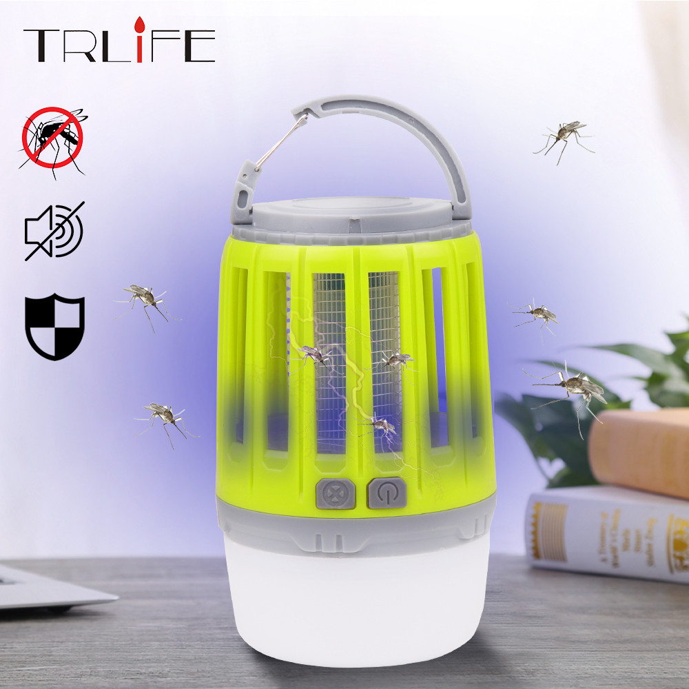 Led Mosquito Killer Lamp Night Light USB Insect Killer Bug Zapper Photocatalyst Mosquito Trap Lantern Indoor Repellent Lamp 2019