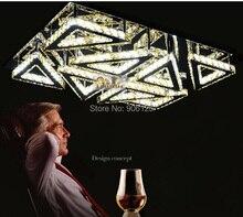 Современные СВЕТОДИОДНЫЕ Crystal Потолочное освещение Светильник Янтарный/Ясно Crytal Потолочный Светильник Гарантировано 100% + Бесплатная доставка!