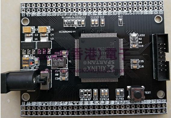 Xilinx FPGA Development Board Spartan3 XC3S50AN Development Board Core Board Minimum System Board