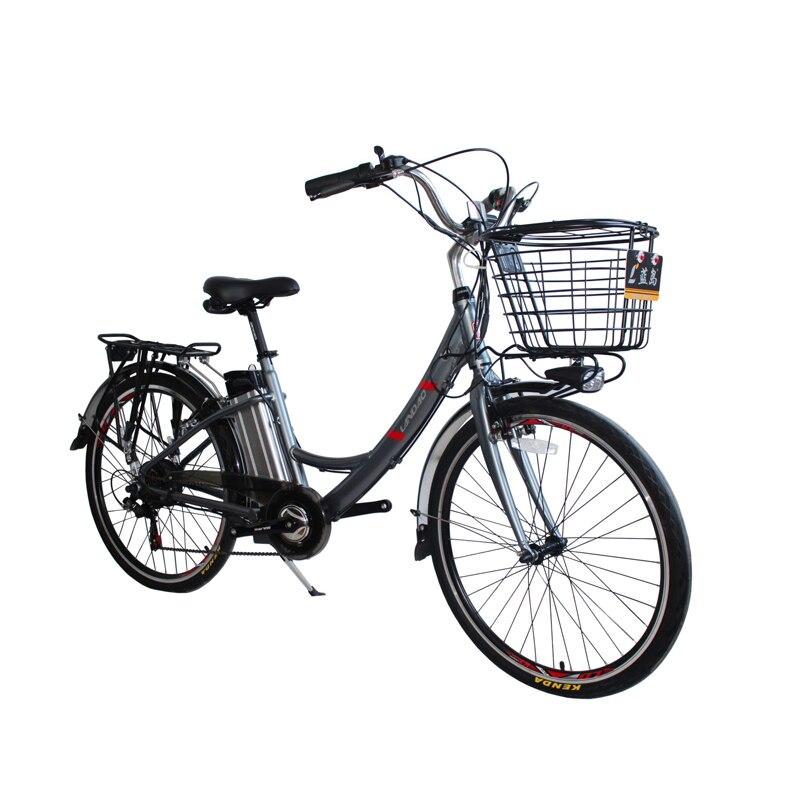 26 pouces vélo électrique 7 vitesses batterie détachable vélo électrique double frein à disque e vélo adulte voyage vélo électrique