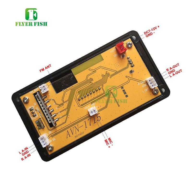 Image 4 - Bluetooth led música áudio indicador de espectro ape mp3 placa nível indicador vu medidor velocidade flac wma receptor fm módulo app no carroCircuitos integrados   -