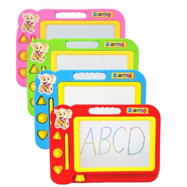 Prancheta de desenho para Crianças Brinquedo Educacional Do Bebê Novo  Magnética Apagável Placa de Escrita Pintura 1c3e936cc3a5c