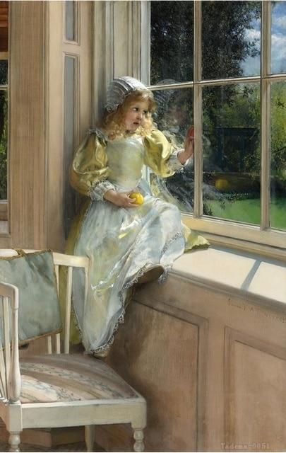 Lawrence Alma Tadema Floral Canvas Wall Art High Quality
