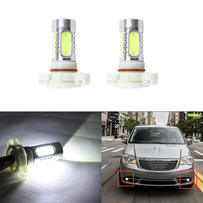 Direct Fit For Chrysler Town & Country 2010-2016 Front Led Fog Light Replacement Bulbs Car-Styling 11W Super White Car Lamp футболка destructo town white 1133970