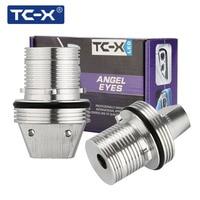 TC-X 2 pcs Ange Yeux voiture-style LED Feux de Position Halo Anneaux pour BMW E39 E53 E65 E66 E60 E61 E63 E64 E87 Ultra Lumineux 10 w 6000 k