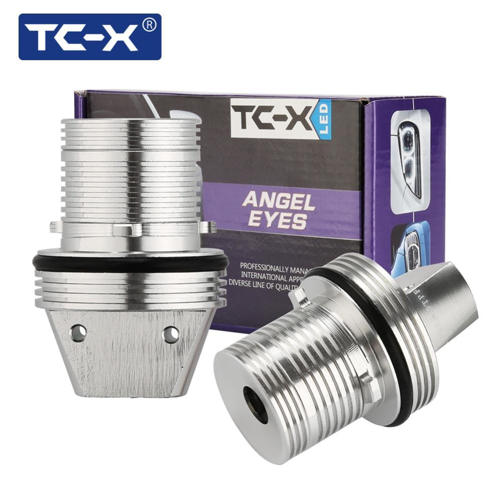TC-X 2gab. Angel Eyes auto veidošanas LED marķieru lukturi Halo - Auto lukturi