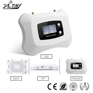 Image 4 - Smart 1800 mhz impulsionador de sinal móvel 2g 4g amplificador de telefone celular 2g4g repetidor de sinal só impulsionador + adaptador