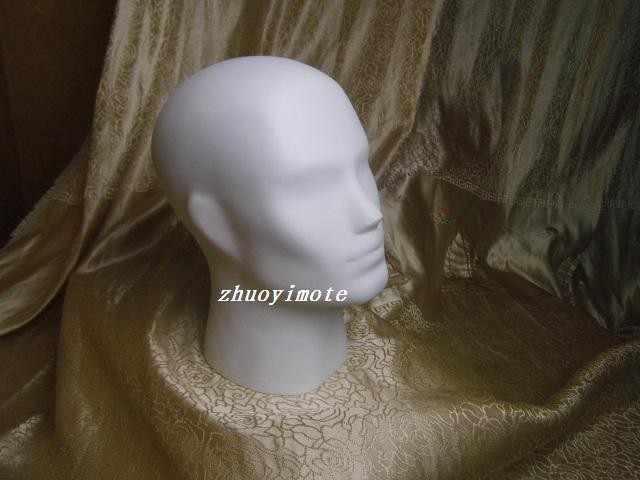 男性マネキンヘッド帽子/ウィッグ/ヘッドフォンマネキンヘッド
