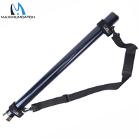 Maximumcatch Carbon Fly Rod Tube With Fishing Rod Strap Carry Shoulder Belt Sling Adjustable