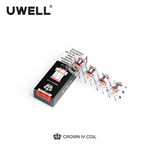 Image 2 - UWELL 4 PCS/Pack Crown 4 Replacement Coil Dual SS904L& Mesh UN2 Coil Head 0.2/0.23/0.4ohm for Crown 4 Electronic Cigarette Tank