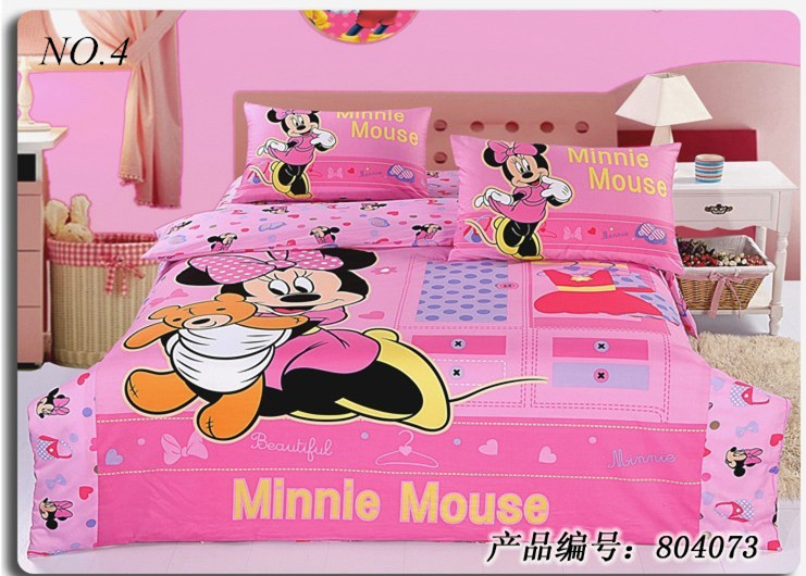 Aliexpress.com : Buy Free Shipping minnie mouse bedding sets kids ...
