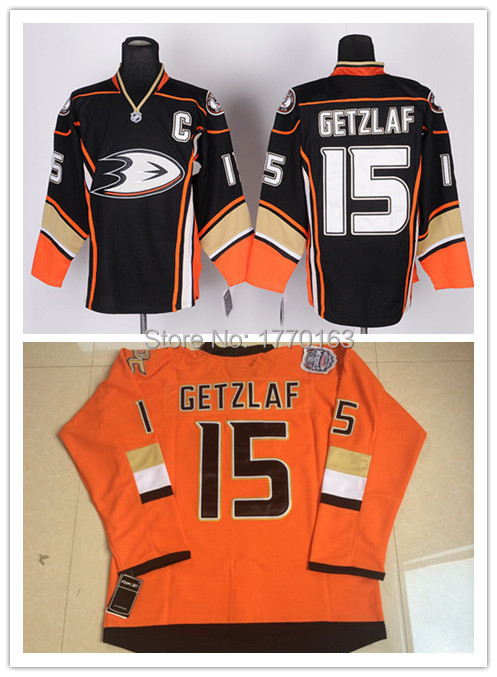 check out 66945 69cff 15 Ryan Getzlaf Ice Hockey Jerseys Anaheim Mighty Ducks ...