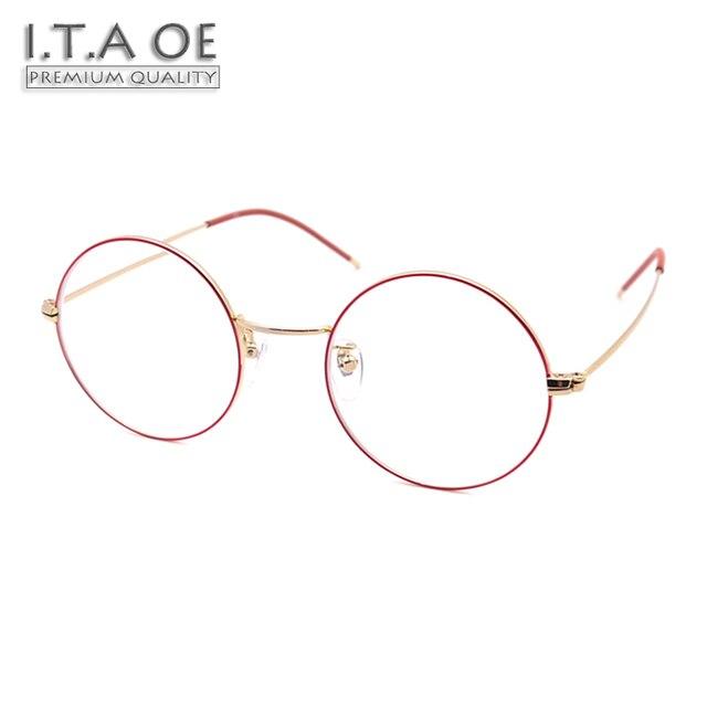 ITAOE Model Kawaii High Quality Alloy Women Optical Prescription ...