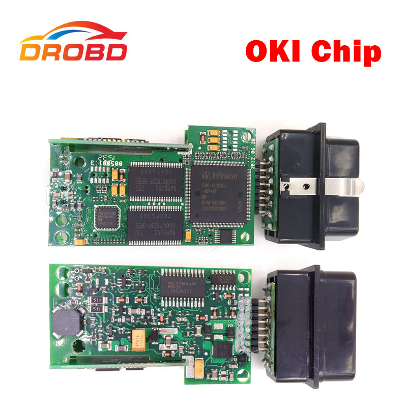 VAS5054A Full Chip With OKI VAS 5054A ODIS V3.0.1 Bluetooth Support for Audi/VW/SEAT/SKODA High Quality OBD2 Diagnostic Tool high quality vas5054a with oki full chip car diagnostic tool support uds protocol vas 5054a odis v4 13 bluetooth for audi for vw