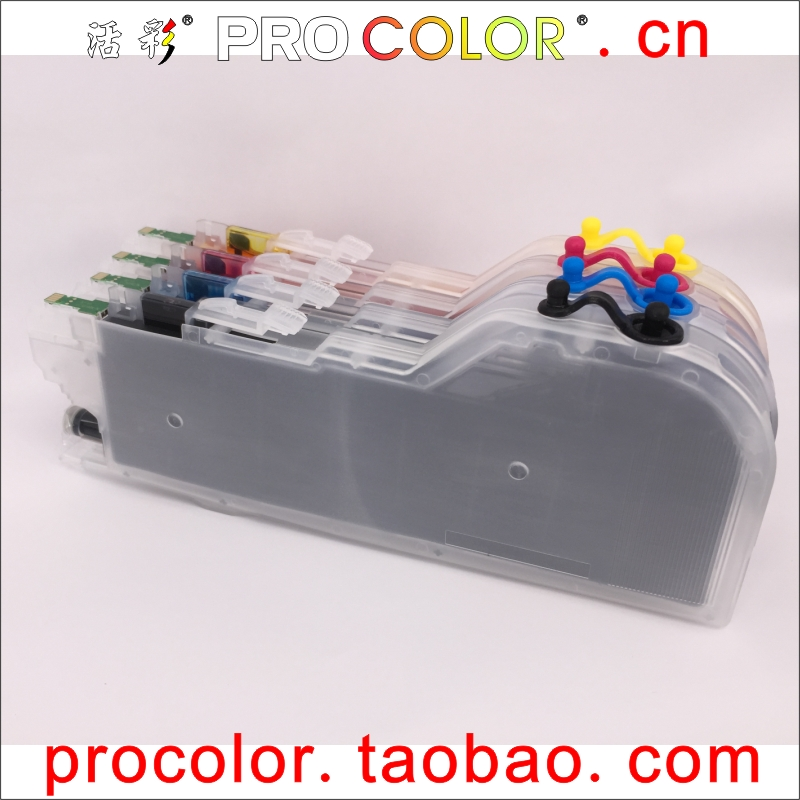 Refillable ink cartridge LC 3219XL 3217 3219 for BROTHER MFC J6530DW J6930DW J6935DW MFCJ6530DW MFC J6930DW
