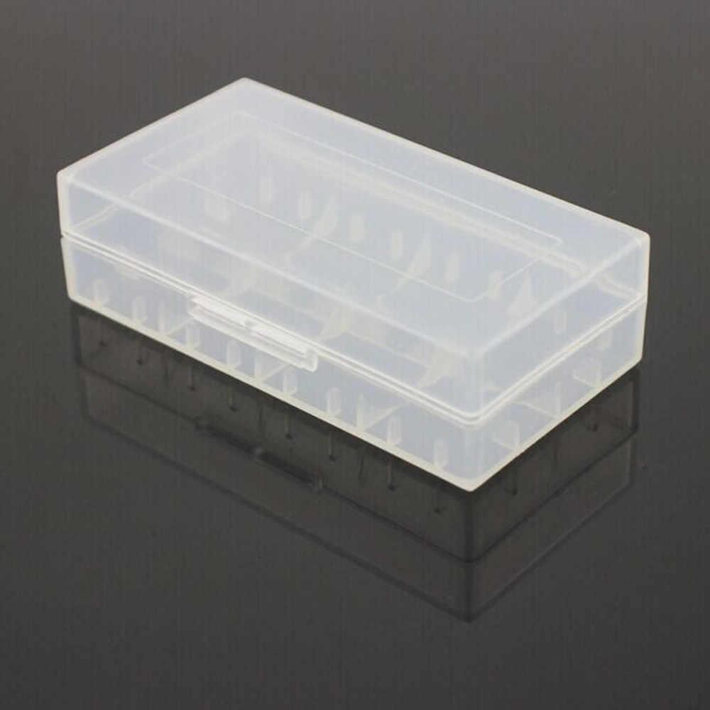 1pc 다채로운 플라스틱 배터리 케이스 홀더 저장소 상자 18650 cr123a 16340 배터리 컨테이너 가방 케이스 주최자 상자 케이스 ja17