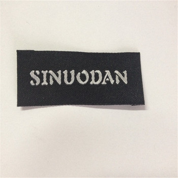 Factory Price High Density Garment  Woven Label Clothing Label