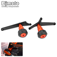 Bjmoto Sport bike RC crash frame sliders Engine Protector Guard cover Falling Protection For KTM RC390 RC200 RC125 2014 2017