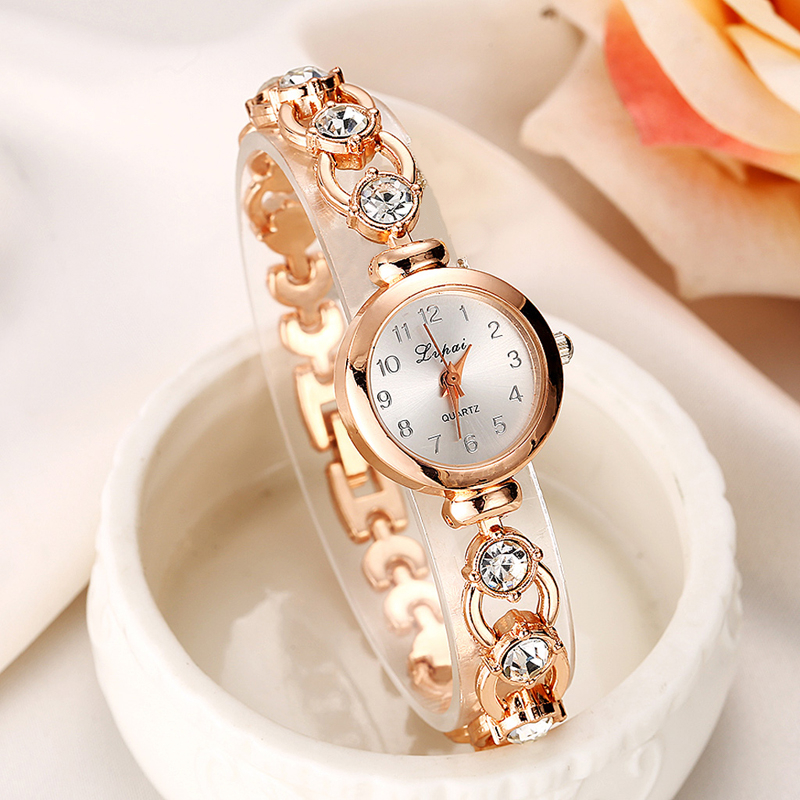 Luxury Women Bracelet Watches Rhinestone Wristwatch Ladies Quartz Dress Wrist Watch bs brand women luxury fashion rhinestone watches lady shining dress watch square bracelet wristwatch ladies diamond quartz watch