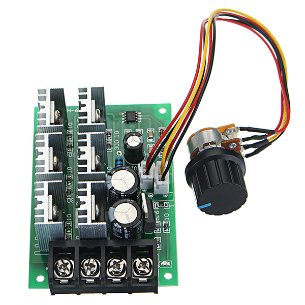 DC 9-55V 40A 2000W PWM DC Motor Pump Speed Regulator High Power Speed Controller New bgektoth high power brushless motor speed controller dc 3 phase regulator pwm dc12v 30a 1a60492