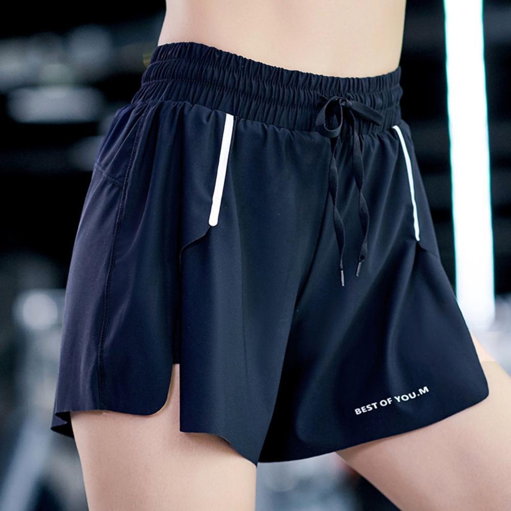 EF667 Sports Shorts Women Yoga Shorts Running Athletic Gym Clothing Sports Quick Dry Workout Training Fitness Shorts