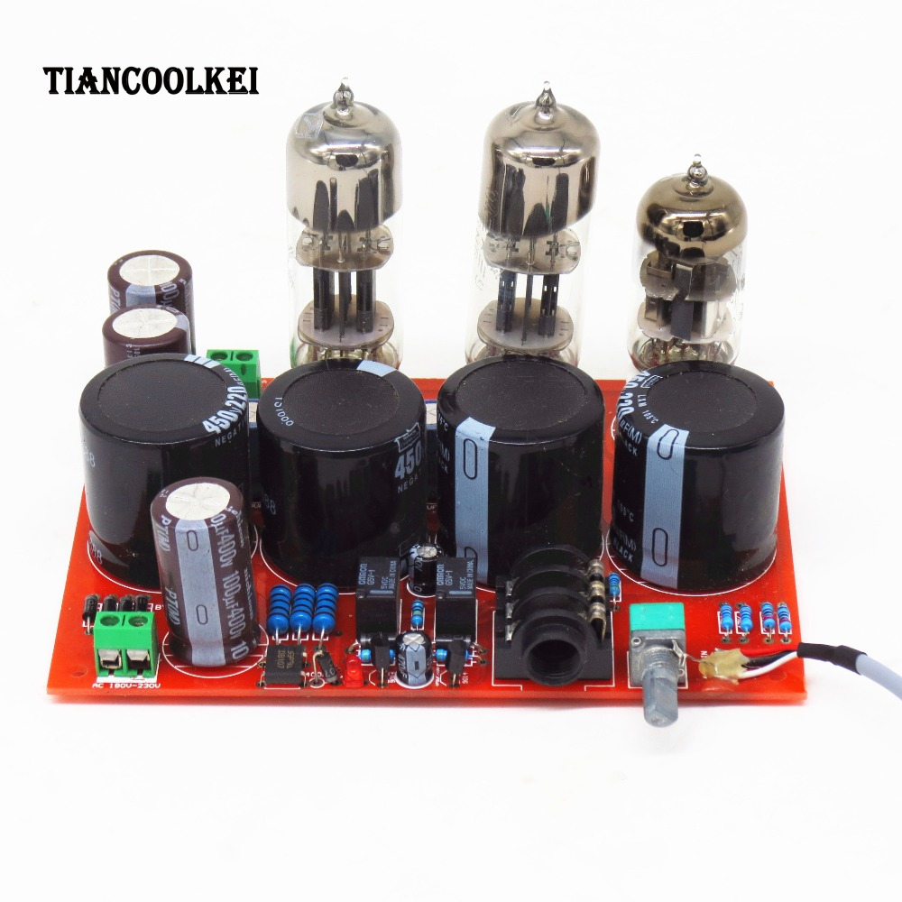 Amp earphone amplifier T4 biliary WFC pure bile ear tube headphone /power board +Transformer